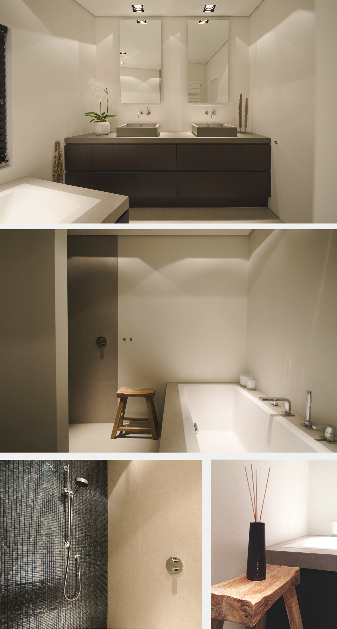 Interieurontwerp woonhuis dorst grego design - Lay outs badkamer ...